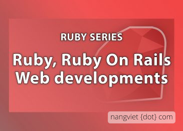 Ruby, Ruby on Rails series